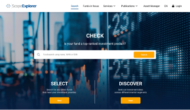 ScopeExplorer,For institutional & retail investors with a focus on funds